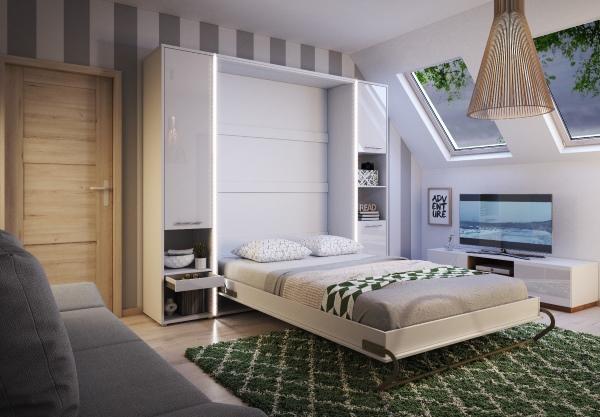 sängskåp sparar plats